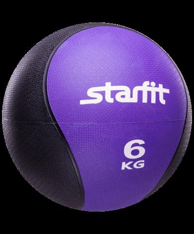 Медбол PRO GB-702, 6 кг, фиолетовый