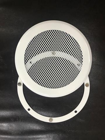 Решетка стальная на магнитах КП-100 сетка, белая