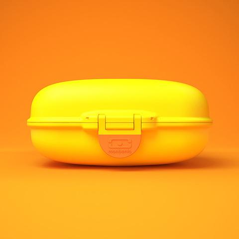 Ланчбокс Monbento Gram (0,6 литра), банановый