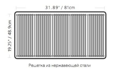 REGAL 590 SS Grids Газовый гриль
