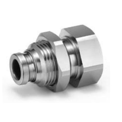 KQG2E23-02  Соединение для панельного монтажа, нерж.,  до 150 град