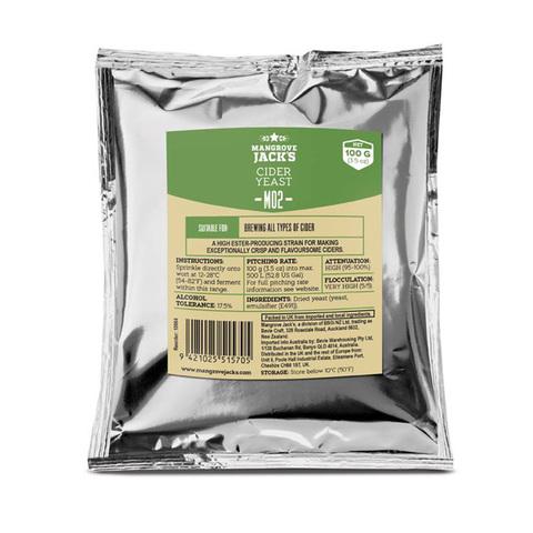 Дрожжи Cider Yeast M02, 100 г