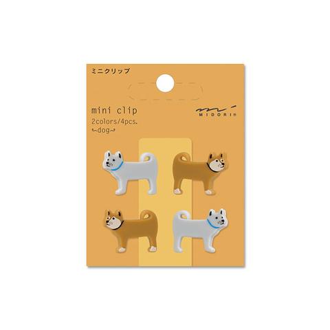 Зажимы Midori Mini Clip - Dog