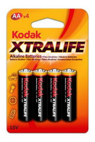 Батарейки Kodak XtraLife LR6, AA (4/60)