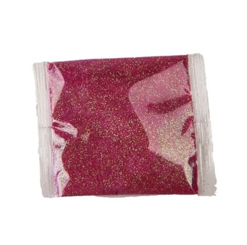 Блёстки в пакетике 20 г, цвет: малиновый
