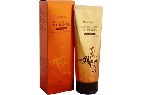 ДП Horse Гель-скатка с гиалуроновой кислотой и лошадиным жиром Deoproce Horse Oil Hyalurone Peeling