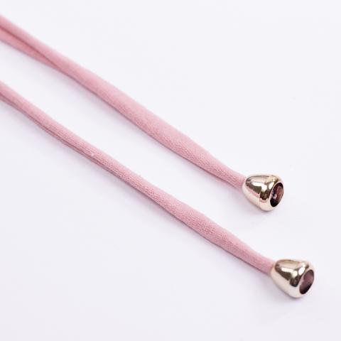 Комплект пластиковых наконечников для тканевой утяжки N6 (золото)