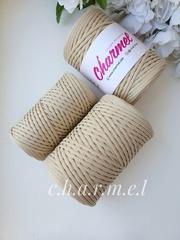 Крем- брюле  Лайт 3 мм Полиэфирный шнур