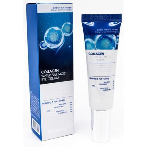 Крем с коллагеном для кожи вокруг глаз Collagen Water full Moist Eye Cream FARMSTAY 50 мл.
