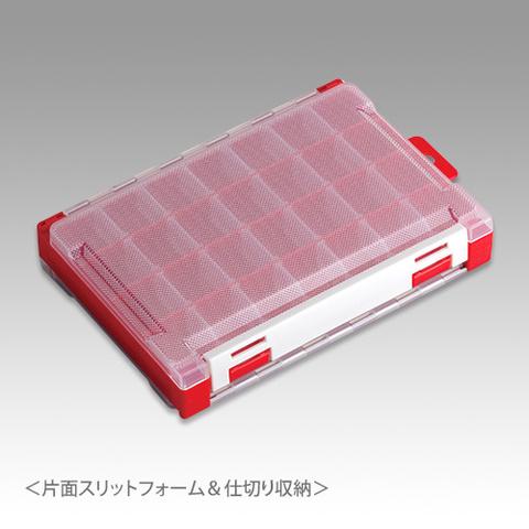 Коробка под приманки MEIHO RUNGUN CASE 3010W-1 RED