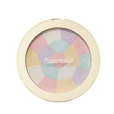 Хайлайтер The Saem с минеральным комплексом 01.Pink White 8 гр