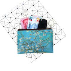 Pul, makiyaj çantası \  Кошелек, косметичка \ Money, makeup bag Van Gogh İrises