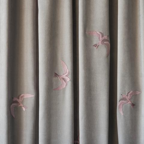 Комплект штор с подхватами Либретто серый