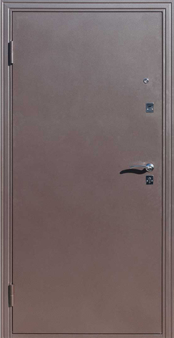 Дверь входная Ампир Венге стальная, венге, 2 замка, фабрика Сибирский Стандарт