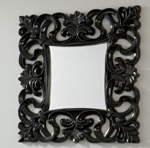 Зеркало DUPEN (Дюпен) PU021 черное