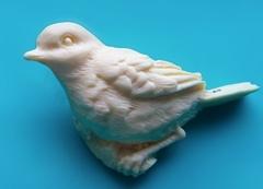 Силиконовый молд № 2098 Птичка  большая