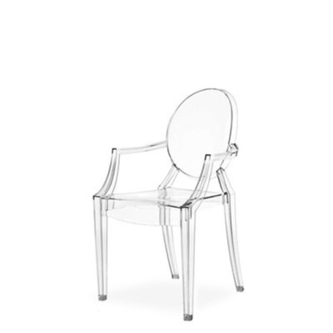 Стул-кресло Louis by Kartell (прозрачный)
