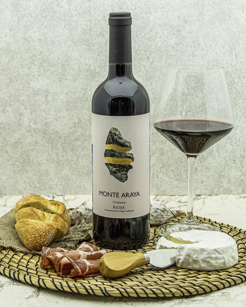 Вино Bodegas Del Medievo Монте Арайя Крианца Красное 2016 г.у. 13,5% 0,75 л.