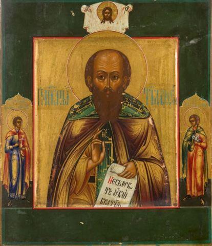 Икона святой Апостол Тимофей на дереве на левкасе мастерская Иконный Дом