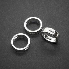 Бусина Кольцо 12х3,5 мм серебро 925