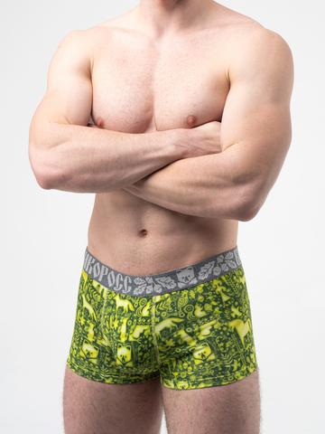 Мужские трусы ВЕЛИКОРОСС боксеры «Весенний лес»