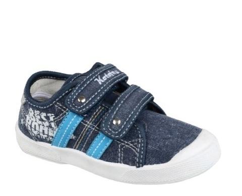 Туфли текстильные синие, best Котофей (ТРК ГагаринПарк)