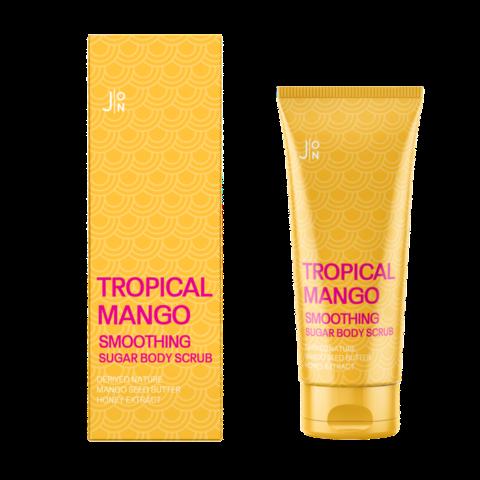 Скраб для тела МАНГО Tropical Mango Smoothing Sugar Body Scrub, 250 гр