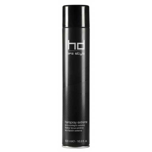 Лак для волос сверхсильной фиксации HD, 500ml