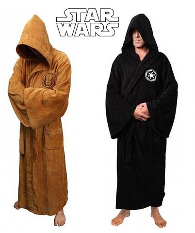 Звездные войны халат плюшевый мужской