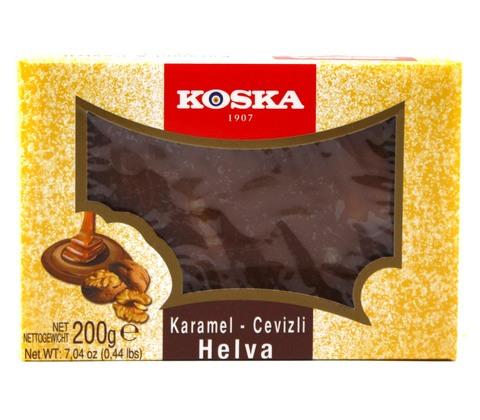 Летняя халва с грецким орехом и карамелью, Koska, 200 г