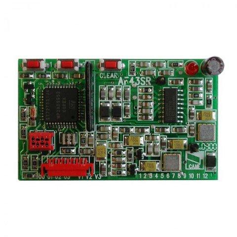 AF43SR - Плата-радиоприемник 433.92 МГц для брелоков с динамическим кодом Came