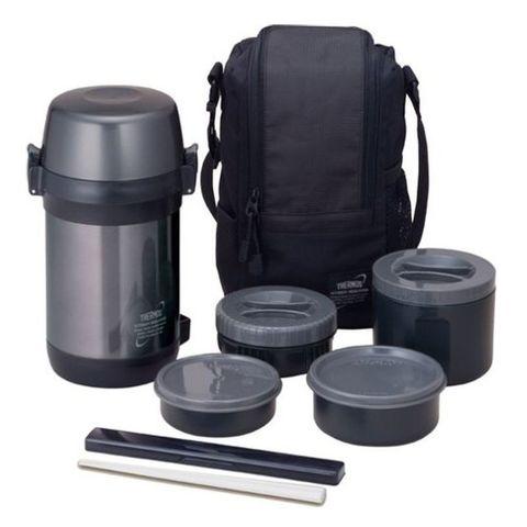 Набор термопосуды Thermos JLS-1601 Food Flask 1.6л. стальной (655967)