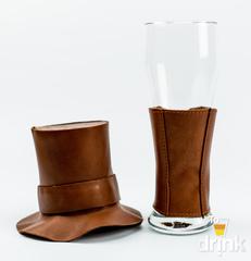 Сувенирный бокал для пива «Вестерн», коричневый, фото 2