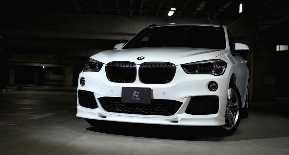 Обвес 3D Design для BMW X1 F48
