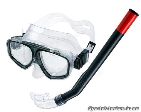 Комплект для подводного плавания Fashy Junior маска и трубка