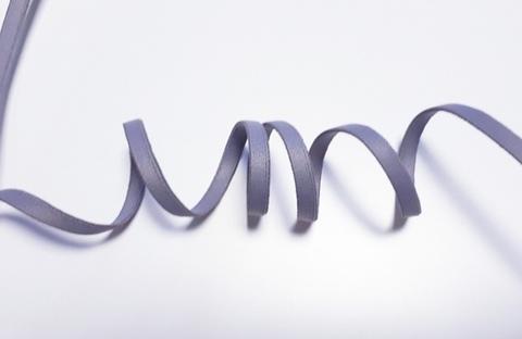 Бретелечная резинка, 5мм, чайка (темно-серый)