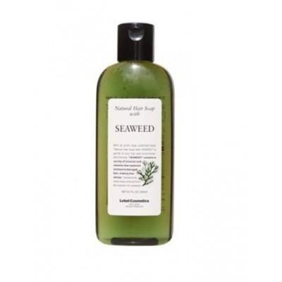 Lebel Natural Hair Soap Treatment: Шампунь для волос с морскими водорослями (Shampoo Seaweed), 240мл/1л/1.6л