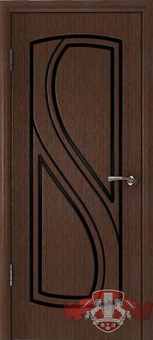 Дверь Владимирская фабрика дверей 10ДГ4, цвет венге, глухая