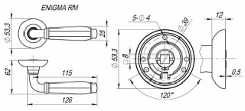 ENIGMA RM SN/CP-3 Схема