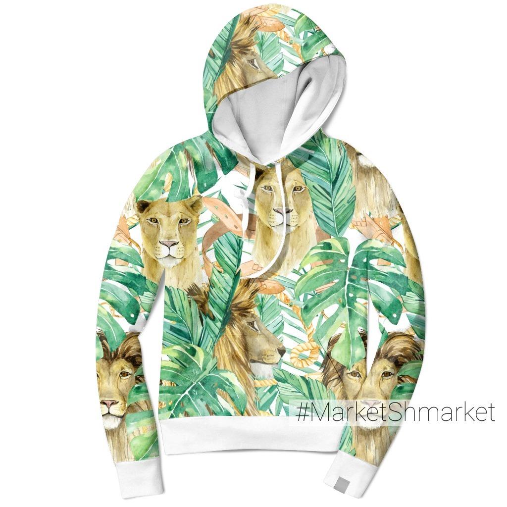 Львы в тропиках