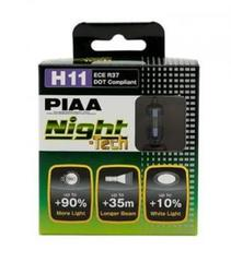 PIAA BULB NIGHT TECH 3600K HE-824 (H11) / Лампа накаливания (комплект из 2шт)