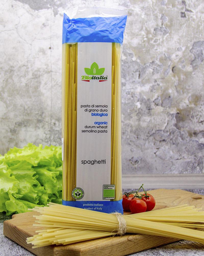 Макаронные изделия Bioitalia Спагетти 500 гр.