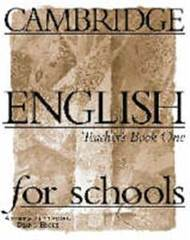 Cambridge English for Schools 1 Teacher's book