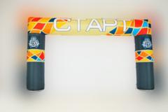 Надувная арка Квадратная (полноцветная печать)