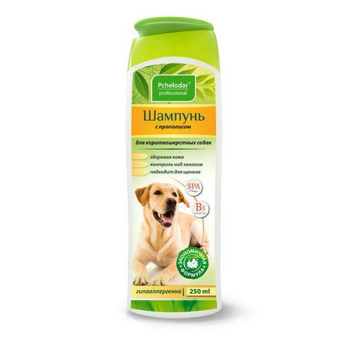 купить Пчелодар гигиенический шампунь с прополисом для короткошерстных собак