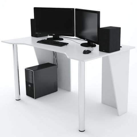 Стол Компьютерный LevelUP 1400 Белый