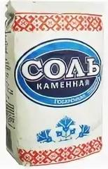 Соль каменная 1кг Беларуськалий - купить с доставкой на дом по Москве и всей России