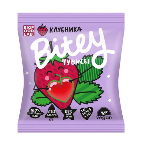Bitey-чувисы мармелад фруктово-ягодный «Клубника» 20 г