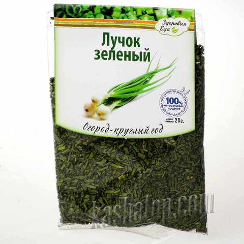 Зелень лука сушёного 'Здоровая еда', 20г