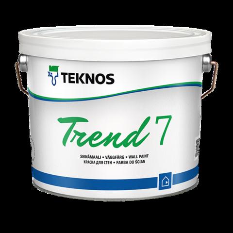 TEKNOS TREND 7/Текнос Тренд 7 Водоразбавляемая акрилатная краска